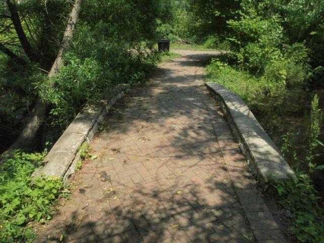 Renovated Walkway.