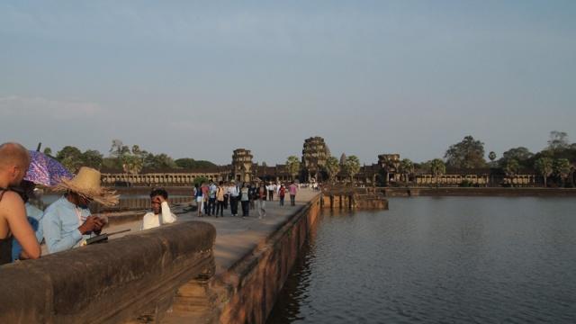 Angkor Wat 1 by Ellen Brenna
